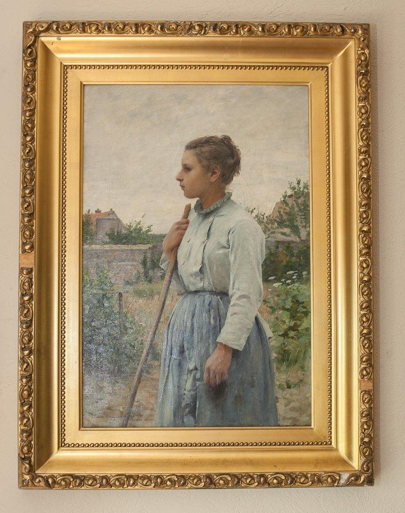 Charles Sprague Pearce Oil Painting