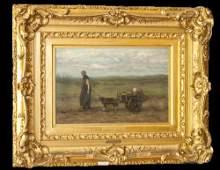 Josef Israels Oil Painting