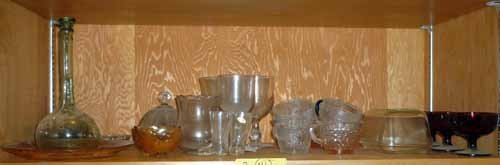 Collection of Glassware