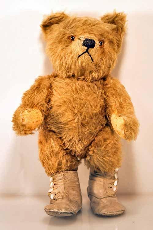 Antique Teddy Bear. Possible Steiff