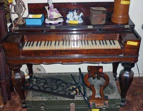 19th Century Spinet Piano