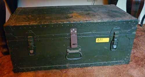 Military Foot Lockers