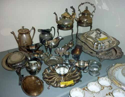 Collection of Silver Plated Hollowware