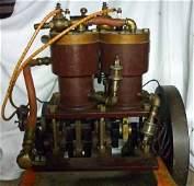 Antique Dunn Marine 2-Cycle Engine