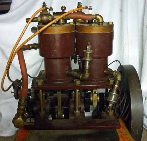 Antique Dunn Marine 2-Cycle Engine