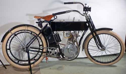 1910  Harley Davidson Motorcycle, Timeless Dream