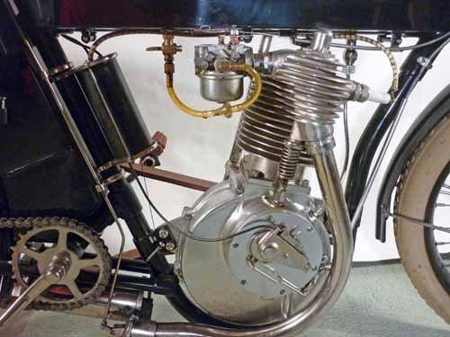 1910  Harley Davidson Motorcycle, Timeless Dream - 2