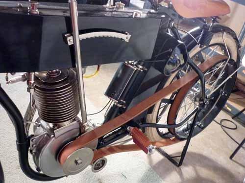 1910  Harley Davidson Motorcycle, Timeless Dream - 4