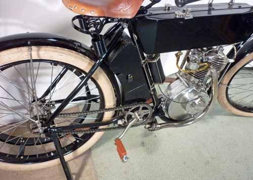 1910  Harley Davidson Motorcycle, Timeless Dream - 5