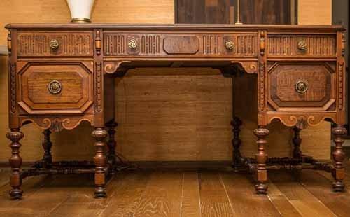 Revell Antique Walnut Desk