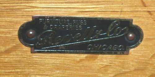 Revell Antique Walnut Desk - 3