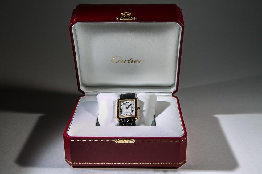 Cartier Tank 2742 18K Gold Watch