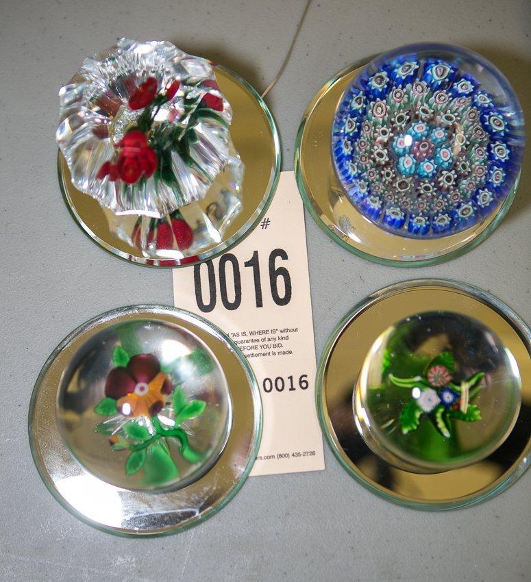 Art Glass Paper Weights