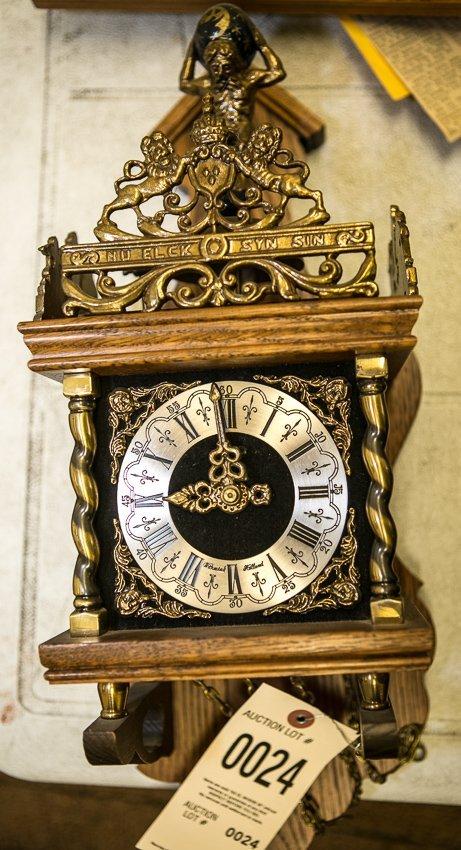 Dutch Warmink Wall Clock