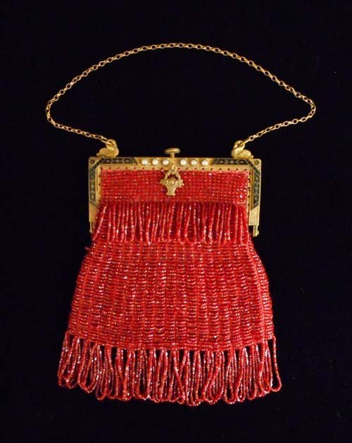 Vintage Beaded Coin Purse