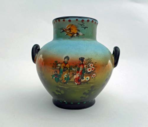Unique Chinese Hand Painted Vase