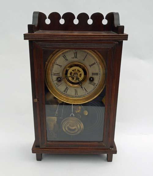 19th Century 8 Day Mantel Clock
