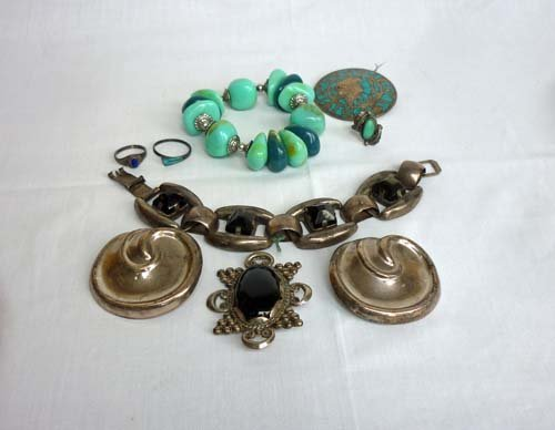 Native American and Mexican Sterling Silver Jewelry