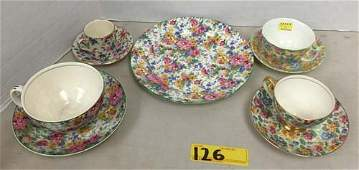 Collection of Chintz Ware
