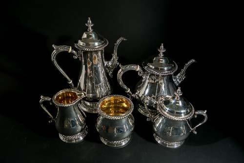Shreve & Co. Sterling Silver Tea Set