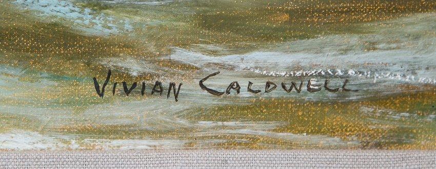 Vivian Caldwell Seascape Oil Painting - 2