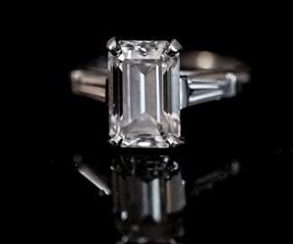 4.02 ct. Diamond Ring