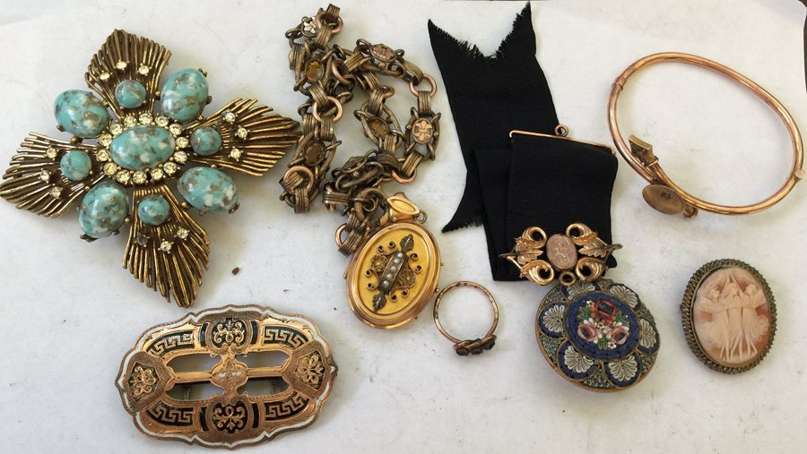 Collection of Designer Costume Jewelry