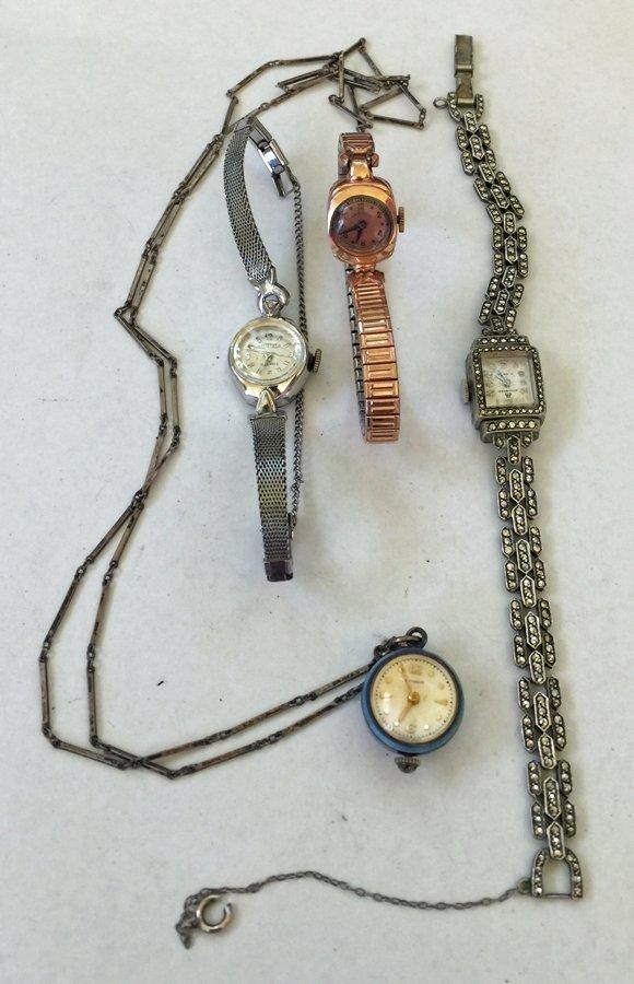 (4) Vintage Watches