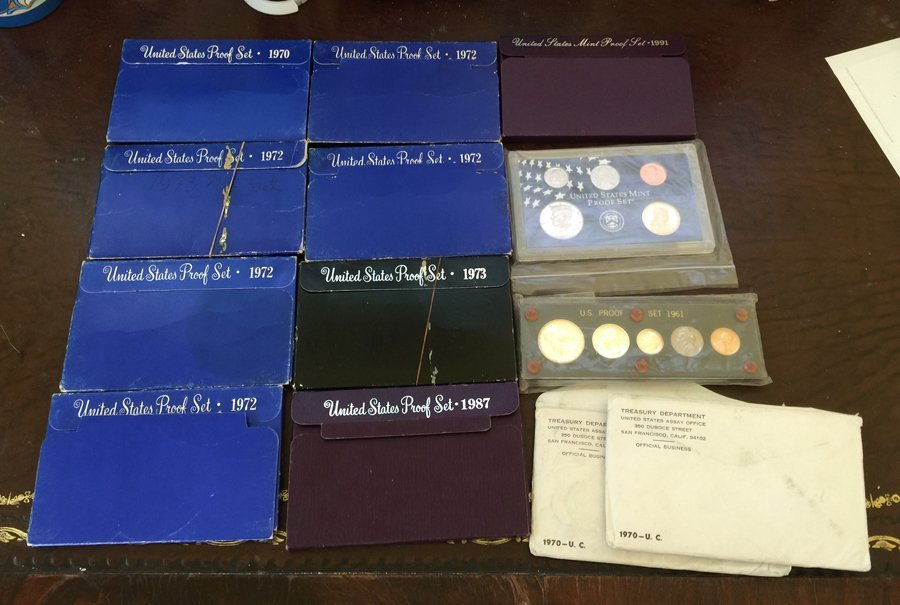US Mint and Proof Sets