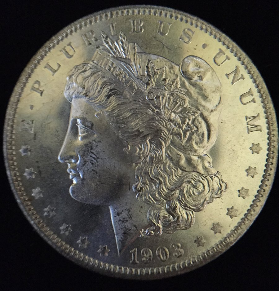 1903 - O (BU) Morgan Silver Dollar