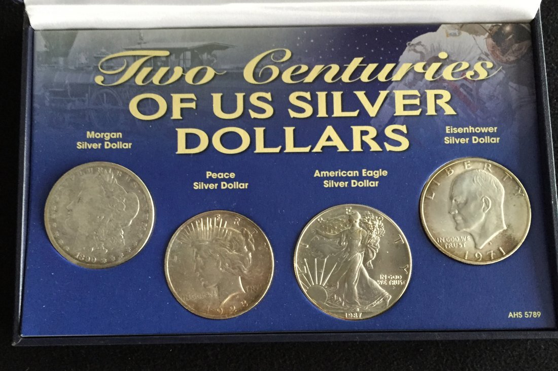 Two Centuries of US Silver Dollars Set - 2