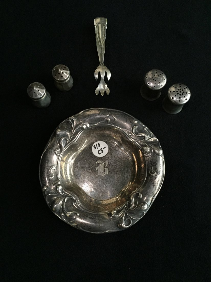 (6) Sterling Pieces