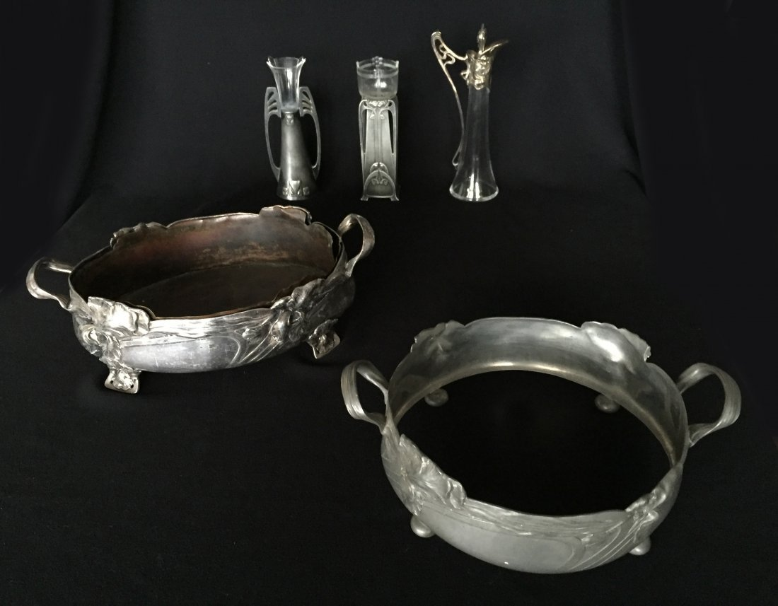 (5) Art Nouveau and Art Deco Pieces