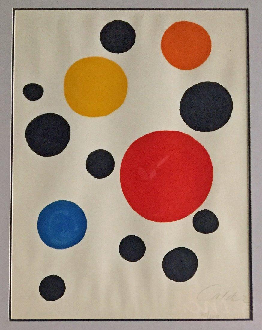 Alexander Calder Lithograph
