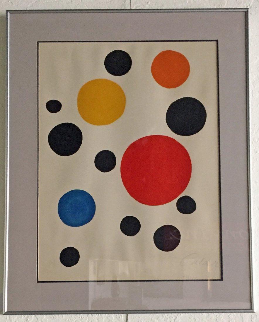 Alexander Calder Lithograph - 2