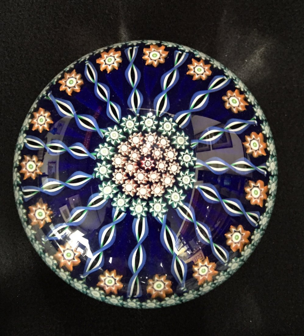 (4) Perthshire Glass Millefiori Paperweights - 2