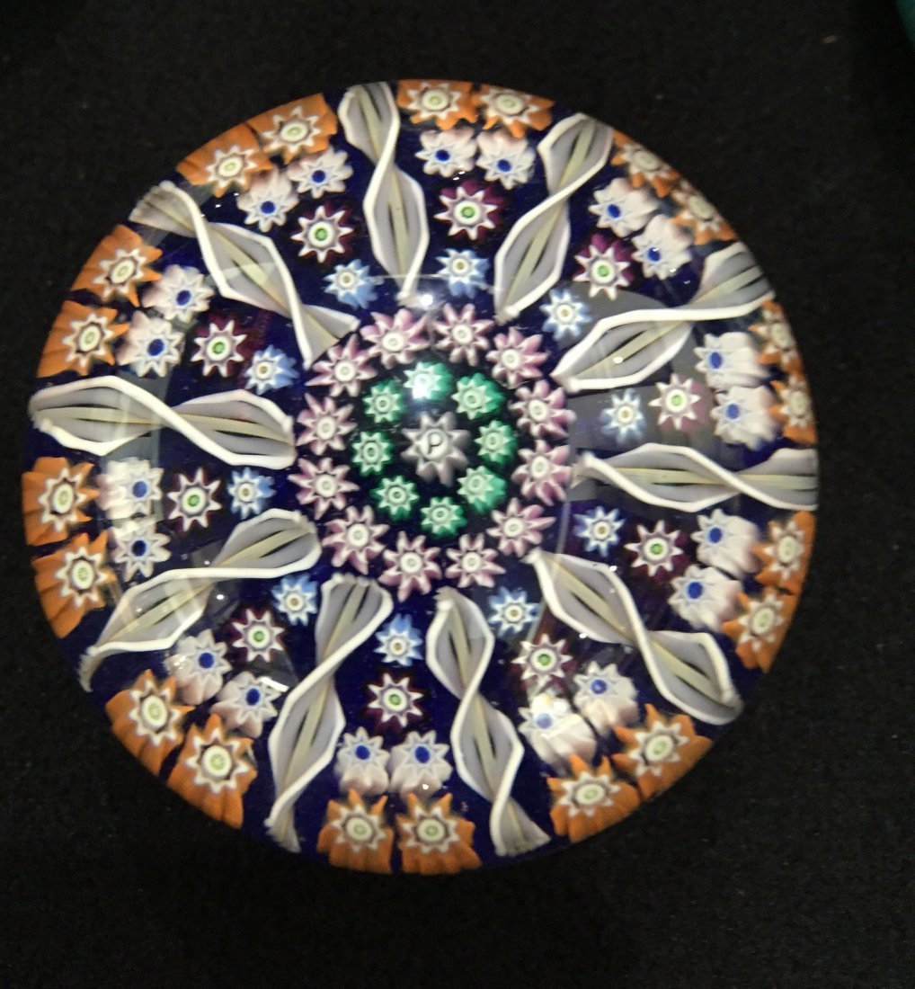 (4) Perthshire Glass Millefiori Paperweights - 4