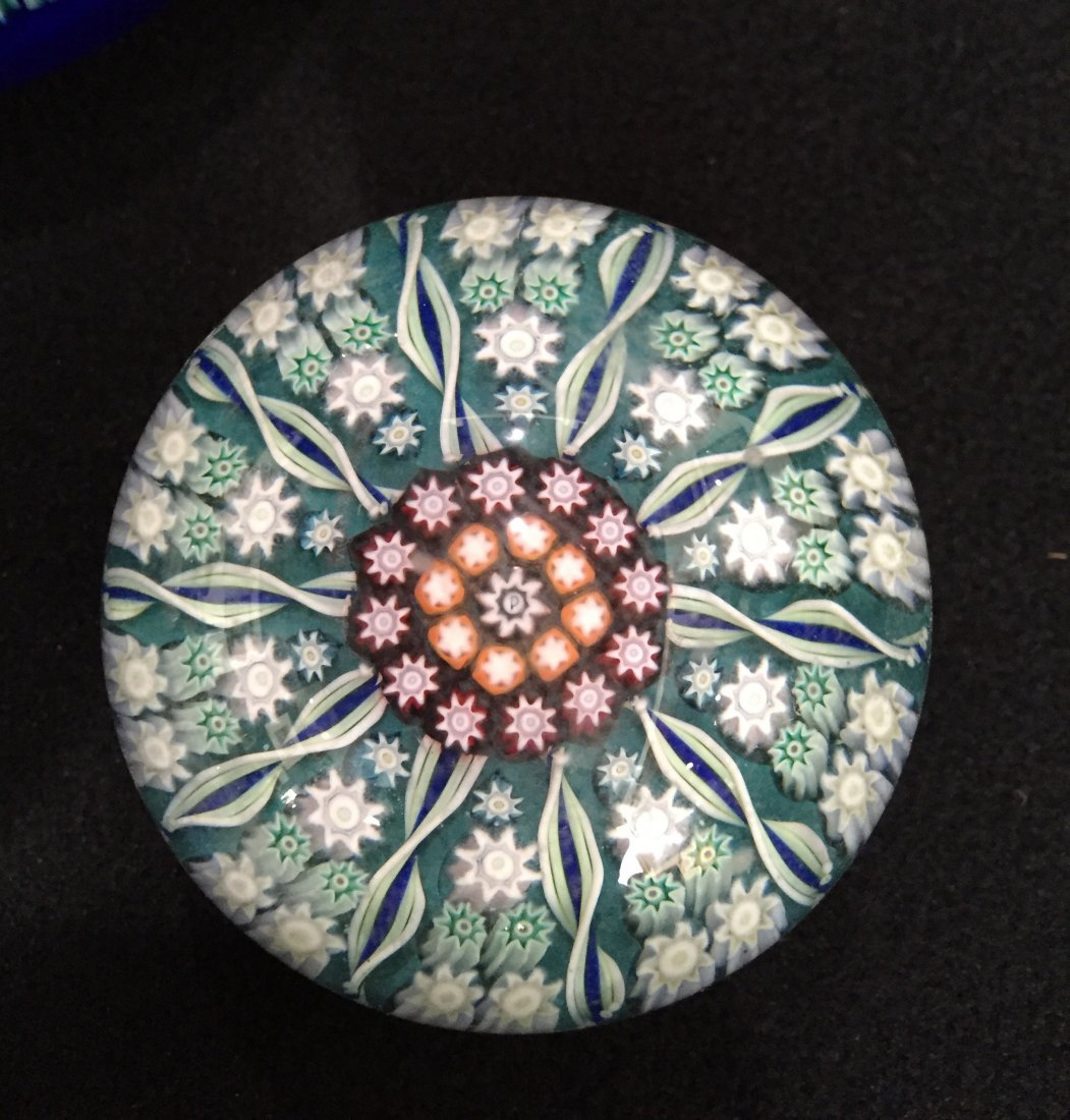 (4) Perthshire Glass Millefiori Paperweights - 5
