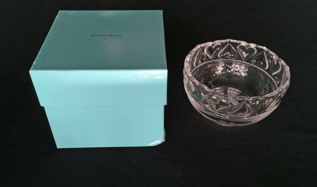 (3pcs) Tiffany & Co. Bowls and Candle Stick - 5