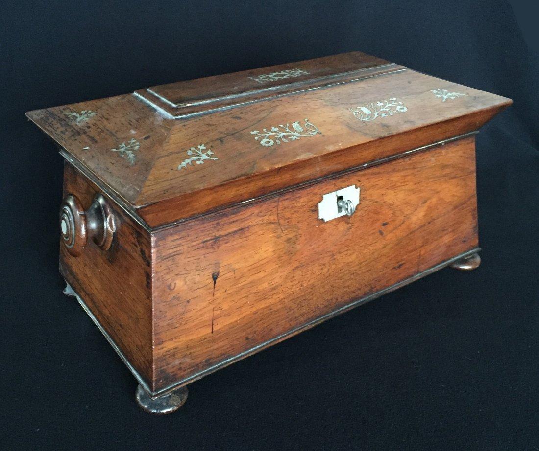19th Century Tea Caddy