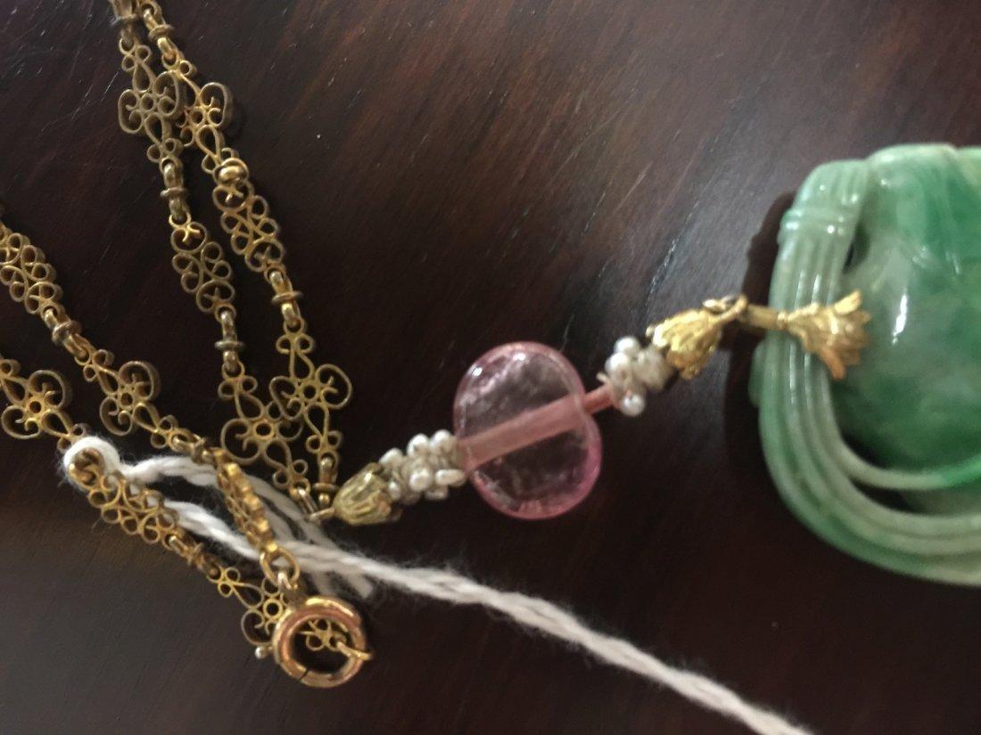 Chinese Jadeite Necklace - 6