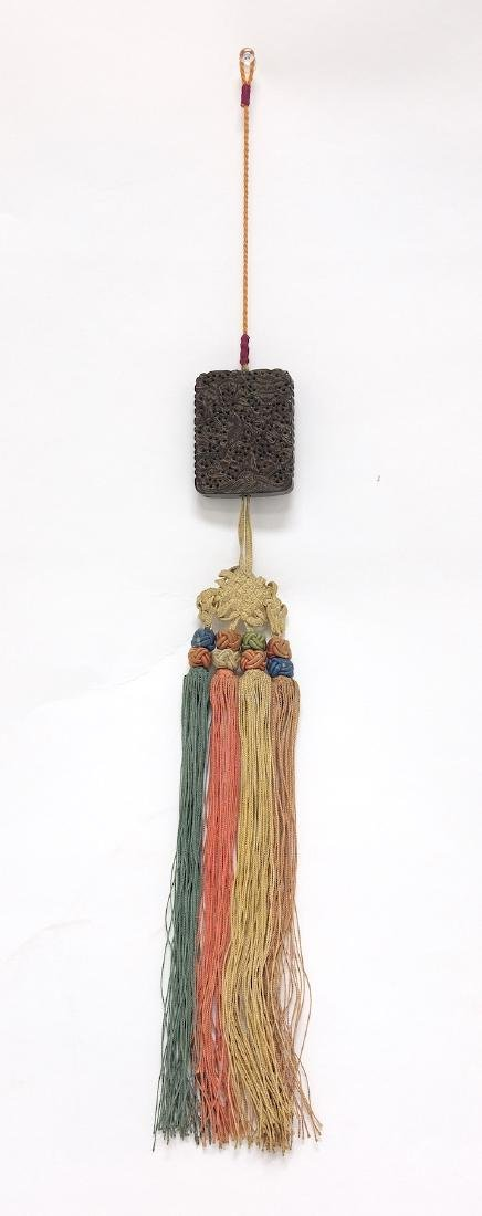 Chinese Carved Tan Xiang Incense Wood - 2