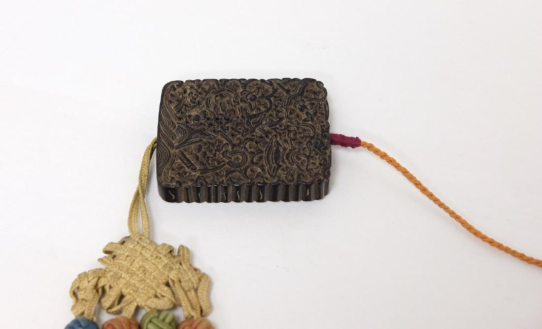 Chinese Carved Tan Xiang Incense Wood - 3
