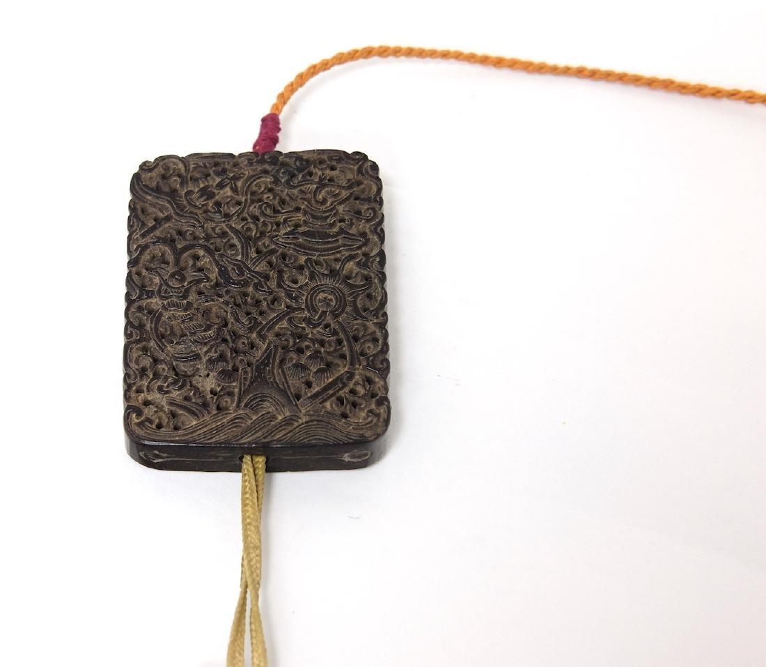 Chinese Carved Tan Xiang Incense Wood - 4