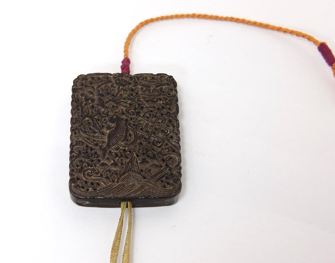 Chinese Carved Tan Xiang Incense Wood - 5