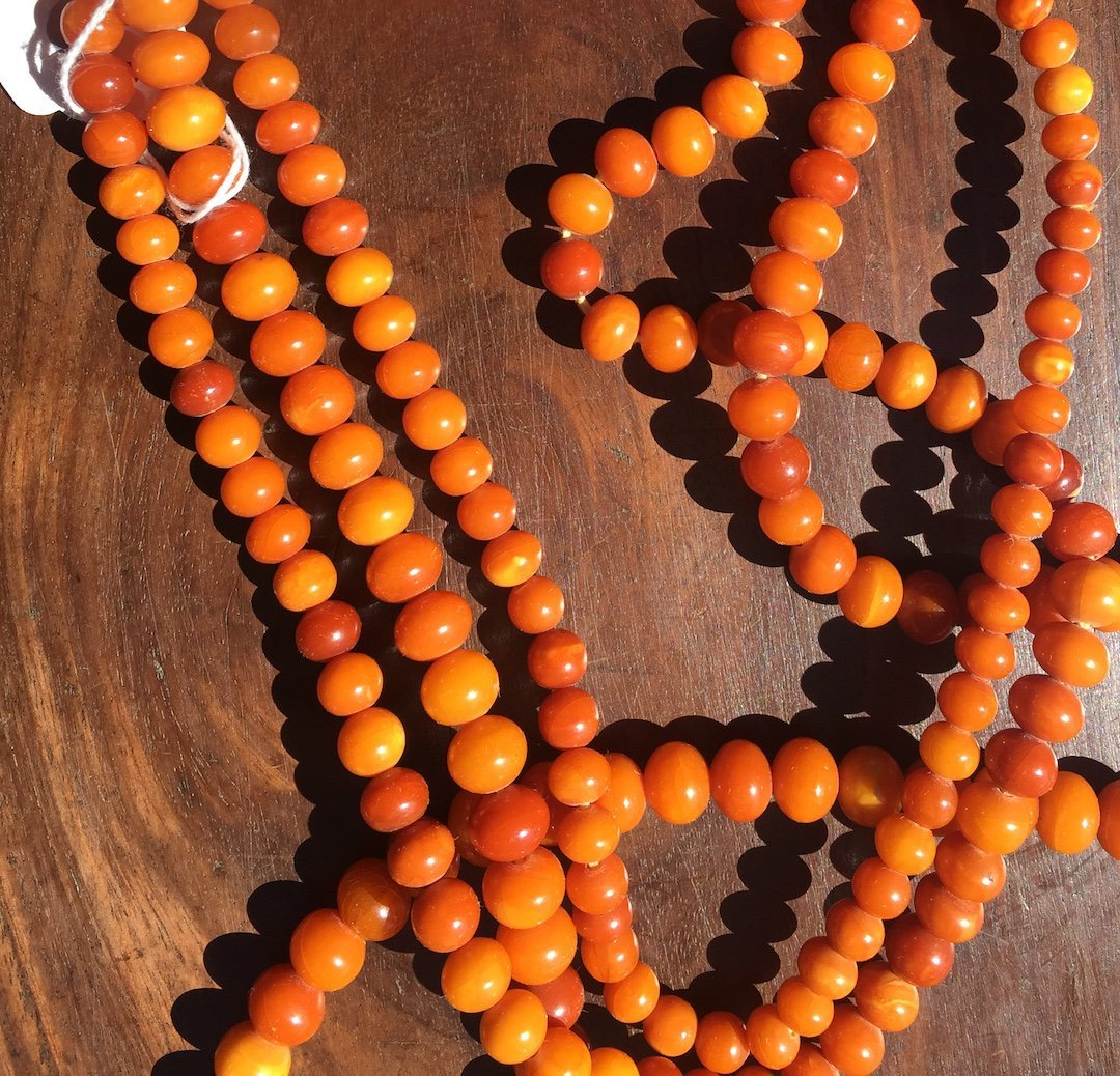 Chinse Extra long Amber Necklace 2 - 5