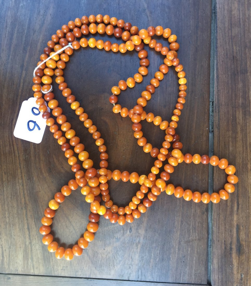 Chinse Extra long Amber Necklace 2 - 7