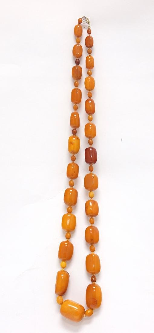 Chinese Extra Large Amber Necklace