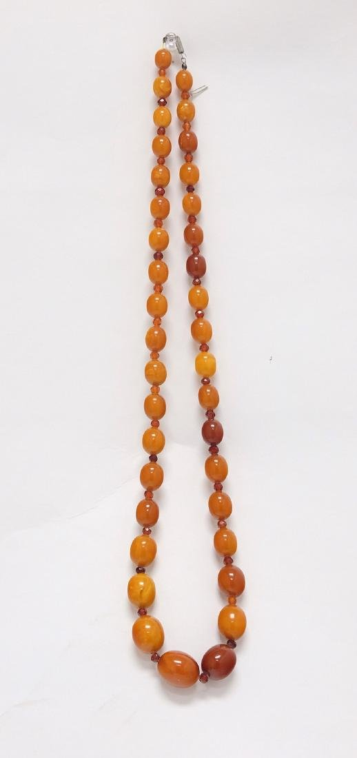 Chinese Large Amber Necklace 4