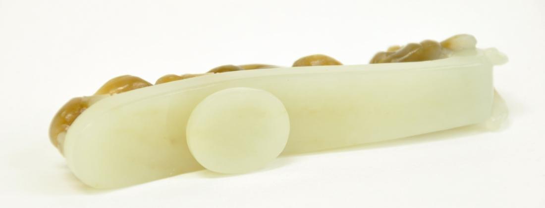 Chinese White Jade Buckle - 3